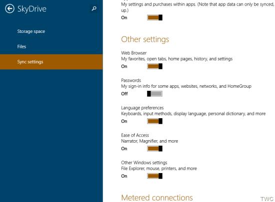 Profunda integración de SkyDrive en Windows 8.1