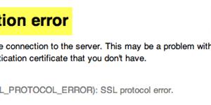 Cómo corregir errores comunes de la conexión SSL en su navegador