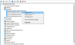 STATUS_DEVICE_POWER_FAILURE o error de archivo btmshellex.dll en Windows 10