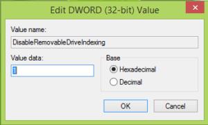 Evitar la creación de carpetas de información de volumen del sistema en USB en Windows 10