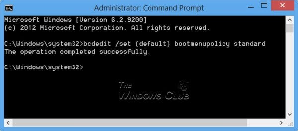 Activar la tecla F8 y el modo seguro en Windows 10