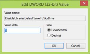 Hacer que Windows 10 guarde documentos localmente, en lugar de OneDrive