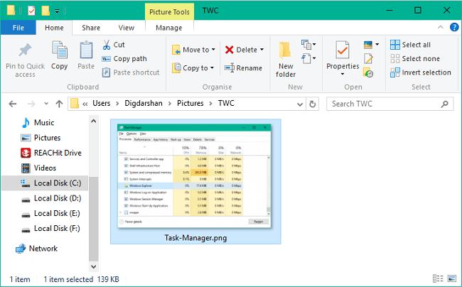 Cómo descargar un archivo usando PowerShell en Windows 10 3