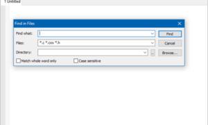 SciTE es un software gratuito de Procesamiento de Texto para Programadores