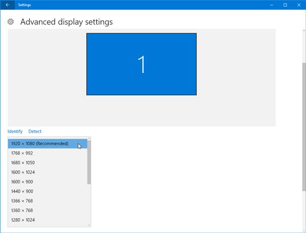 Arreglar problemas después de pasar a un monitor más grande con una resolución de pantalla más alta 1