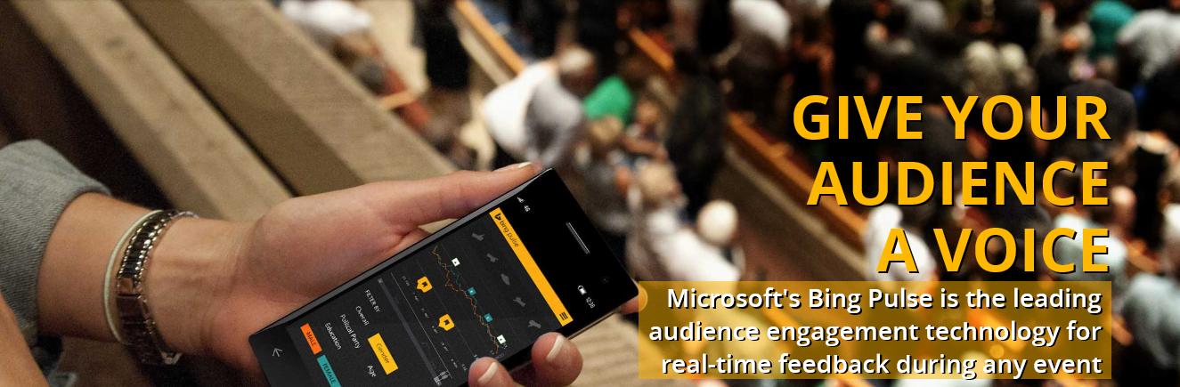 Cómo usar Bing Pulse 2.0 para sus eventos 1