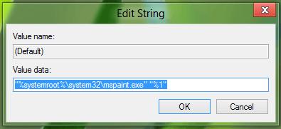 Cambiar el Editor de Imágenes predeterminado en Windows usando Registry