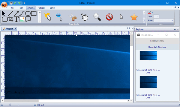 Screeny es un software de captura de pantalla gratuito para PC con Windows