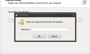 Ocultar, bloquear y proteger con contraseña las carpetas privadas con SecretFolder para Windows