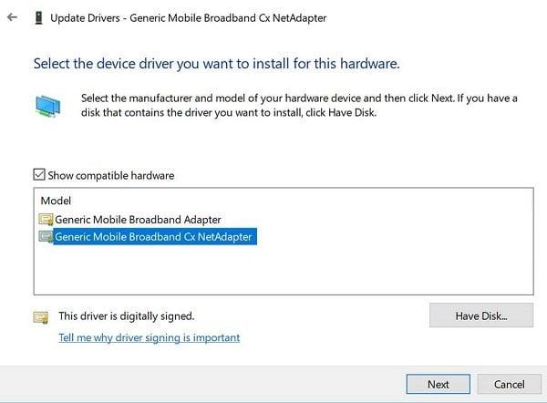Cómo mejorar la conectividad LTE en Windows 10 con cX NetAdapter