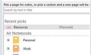 Usa OneNote para tomar notas en una reunión programada de Outlook o Skype para empresas
