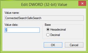 Filtrar los resultados de la búsqueda web en Windows mediante la configuración de búsqueda segura