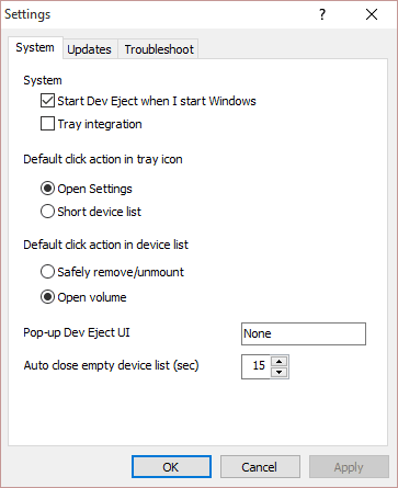 Gestione y extraiga de forma segura las unidades USB con Dev Eject