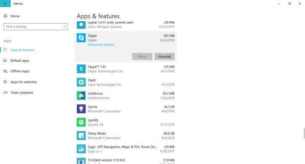 Skype para Windows 10 no funciona ni hace llamadas de voz y video