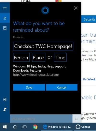 Cómo compartir una URL de una página web usando el navegador Microsoft Edge