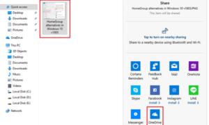 Compartir impresoras y archivos aunque el Grupo Hogar se haya eliminado en Windows 10