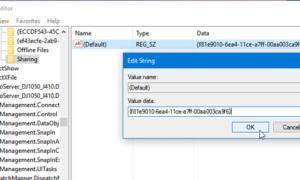 Falta la ficha Compartir en el cuadro Propiedades de carpeta de Windows 10.