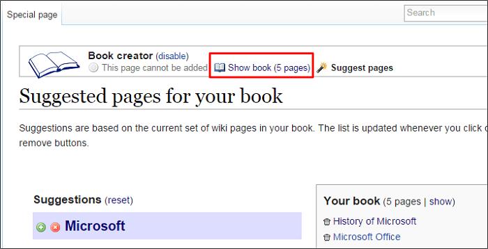 Cómo crear un libro electrónico a partir de Wikipedia 7