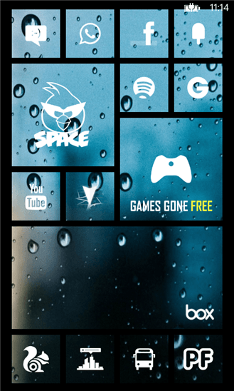 Skinery Tiles Pro : Aplicar temas personalizados en Windows Phone Live Tiles