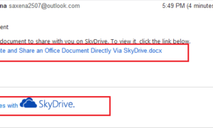 Cómo crear y compartir un documento de Office directamente a través de SkyDrive