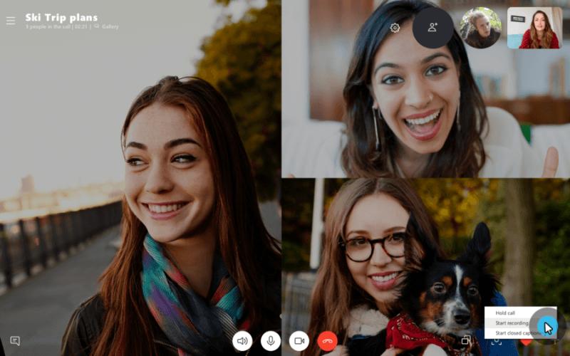 Cómo grabar llamadas de Skype en Windows 10, Android, iOS 1