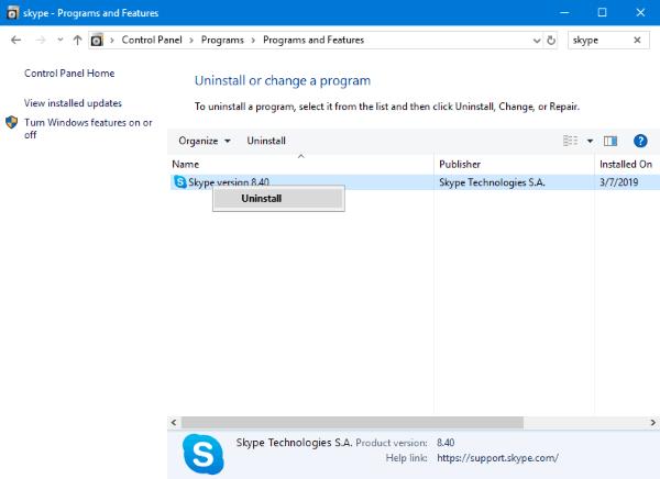 El chat de video de Skype se bloquea en un equipo con Windows