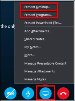 Cómo compartir Pantalla en Skype y Skype para empresas en Windows 10
