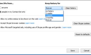 Un truco sencillo para administrar tu historial de Skype