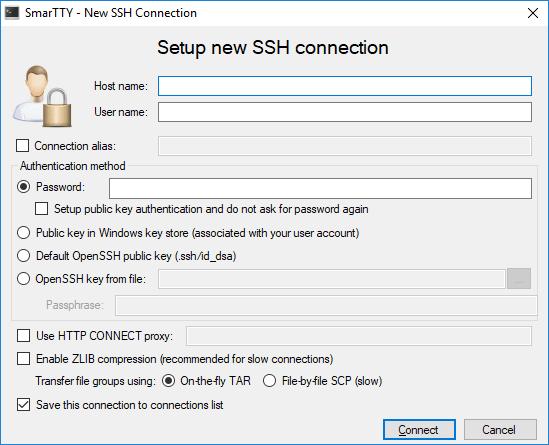 Clientes SSH gratuitos para Windows 10/8/7