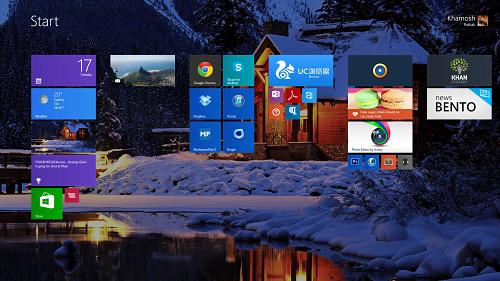 Temas de Navidad para Windows 8.1/8 1
