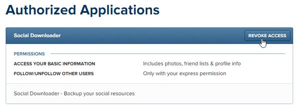 Descargador Social: Descarga contenido de Facebook e Instagram