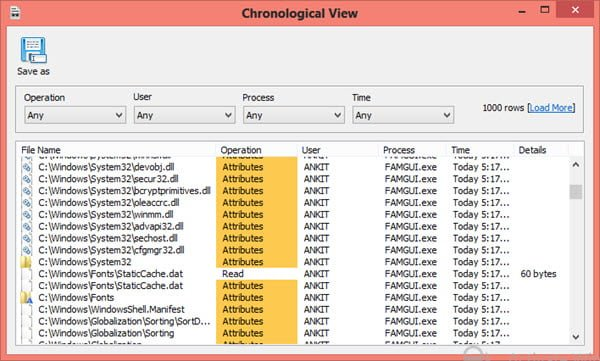 El Monitor de Acceso a Archivos lleva un registro de las personas que leen y modifican sus archivos.