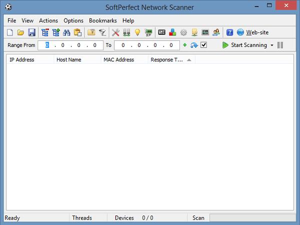SoftPerfect Network Scanner: Una herramienta gratuita de escáner de red para Windows 1
