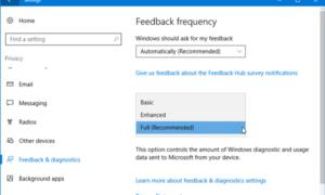 Algunas configuraciones son administradas por el mensaje de su organización en Windows 10