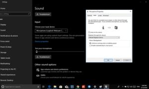 Configuración del altavoz y micrófono preferido para aplicaciones a través de la configuración de Windows 10