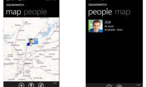 SquadWatch: Aplicación de Windows Phone para compartir ubicaciones desde Microsoft Garage
