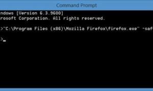 Cómo iniciar Firefox en modo seguro con los complementos desactivados