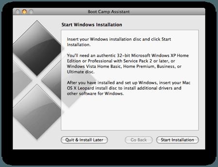 Cómo instalar Windows en Mac usando el Asistente Boot Camp 4