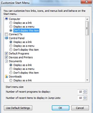 Mostrar todos los programas al estilo XP en el menú Inicio de Windows 7