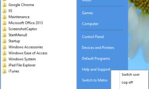 Menú Inicio 8: Agregar Menú Inicio y Botón a Windows 8