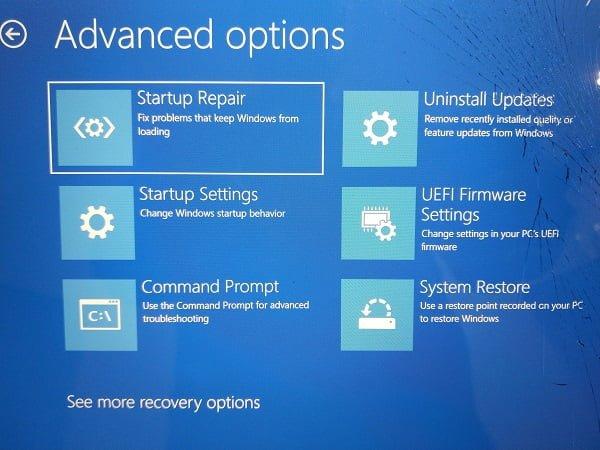 La imagen de arranque seleccionada no autentificó el mensaje en Windows 10