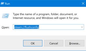 Error de vapor - Falta de contenido Error manifiesto en Windows 10