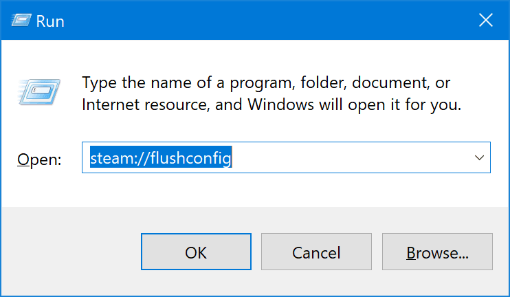 Error de vapor - Falta de contenido Error manifiesto en Windows 10 5