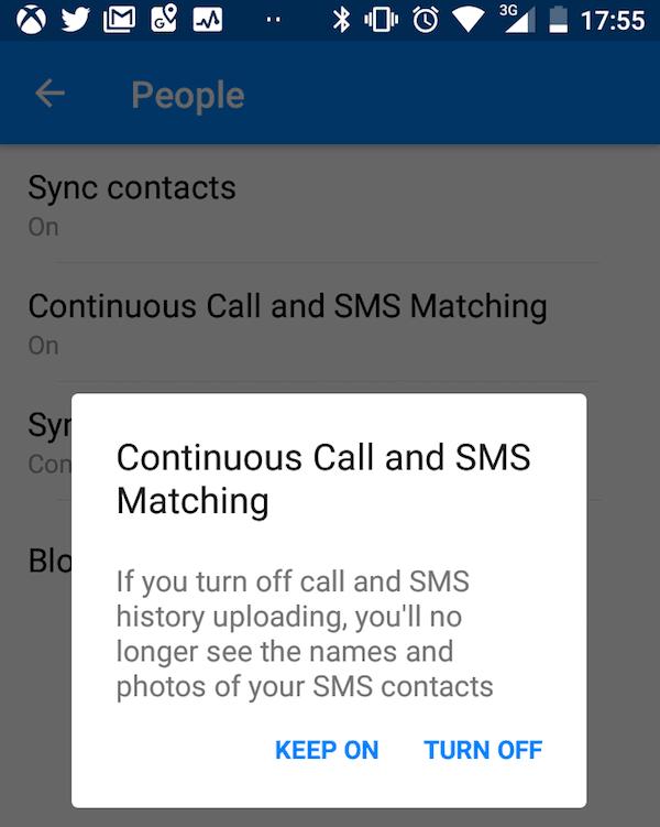 Cómo ver y eliminar el Historial de llamadas y SMS de Facebook para siempre