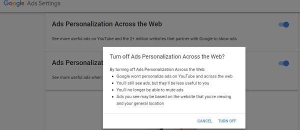 Cómo evitar que los anuncios de Google te sigan por Internet