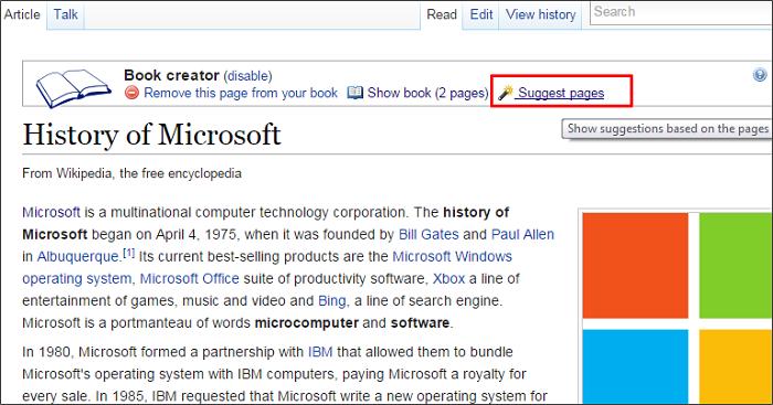 Cómo crear un libro electrónico a partir de Wikipedia 5