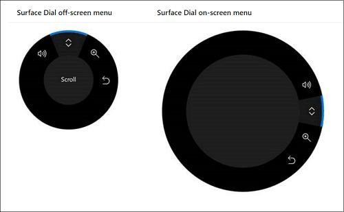 Funcionamiento básico de Microsoft Surface Dial en Surface Studio 1