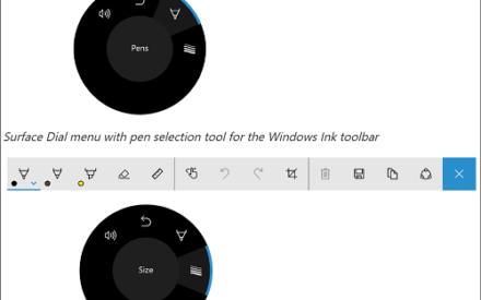 Funcionamiento básico de Microsoft Surface Dial en Surface Studio