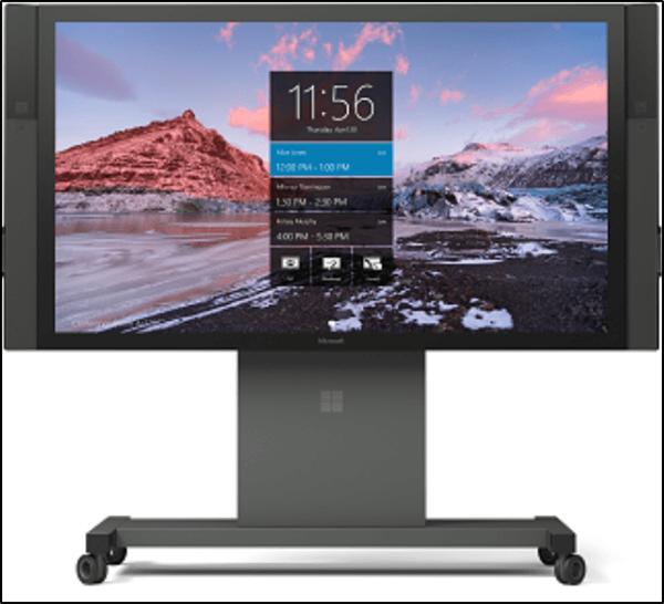 Cómo finalizar la reunión y guardar los cambios mientras se utiliza Surface Hub 1