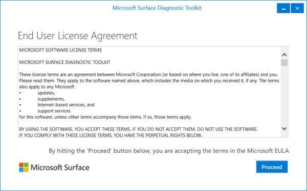 Descargar el conjunto de herramientas de superficie de Microsoft para profesionales de TI